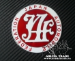 Эмблема на кузов JAF- Japan Automobile Federation (Красная)